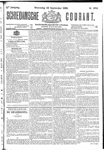 Schiedamsche Courant 1898-09-28