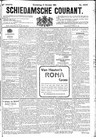 Schiedamsche Courant 1912-10-17