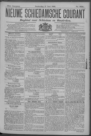 Nieuwe Schiedamsche Courant 1909-06-17