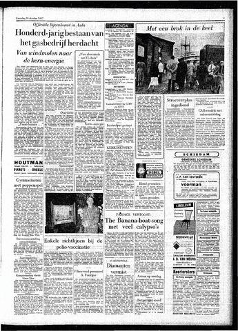Rotterdamsch Parool / De Schiedammer 1957-10-19