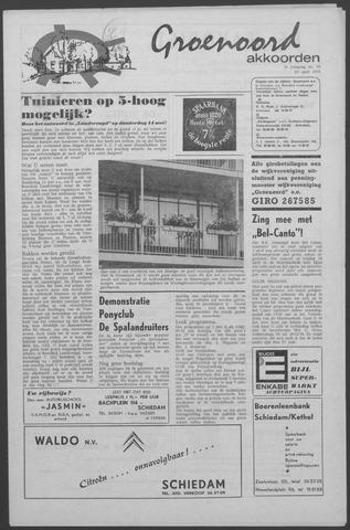 Groenoord Akkoorden 1970-04-30