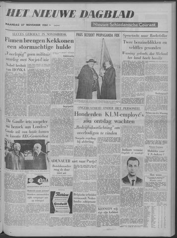 Nieuwe Schiedamsche Courant 1961-11-27