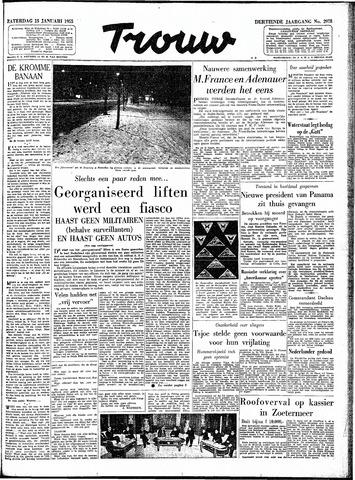 Trouw / De Rotterdammer 1955-01-15