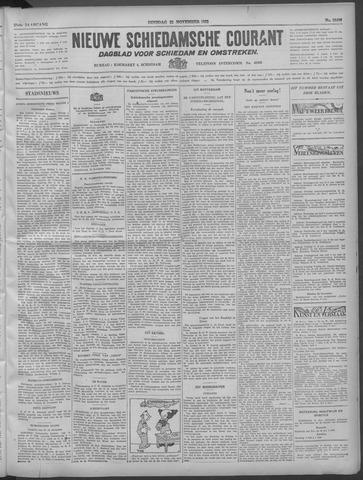 Nieuwe Schiedamsche Courant 1932-11-22