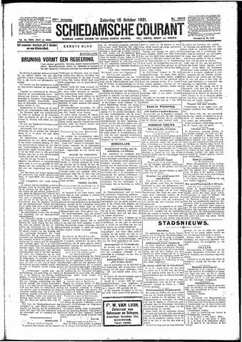 Schiedamsche Courant 1931-10-10