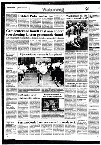 Rotterdamsch Nieuwsblad / Schiedamsche Courant / Rotterdams Dagblad / Waterweg / Algemeen Dagblad 1993-11-01
