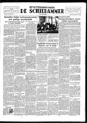 Rotterdamsch Parool / De Schiedammer 1947-10-31
