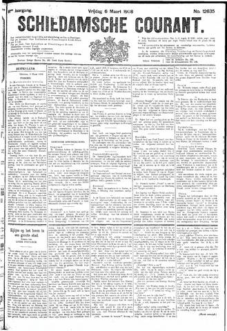 Schiedamsche Courant 1908-03-06