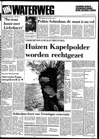Rotterdamsch Nieuwsblad / Schiedamsche Courant / Rotterdams Dagblad / Waterweg / Algemeen Dagblad 1983-09-29