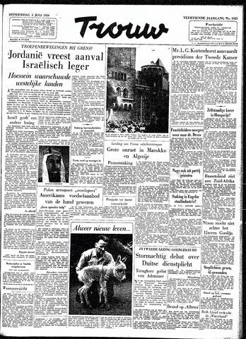 Trouw / De Rotterdammer 1956-07-05