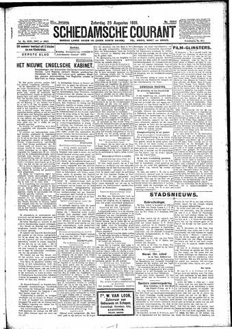 Schiedamsche Courant 1931-08-29