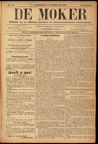 De Moker 1905-02-11