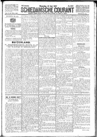 Schiedamsche Courant 1927-06-22