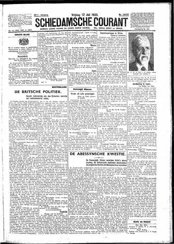 Schiedamsche Courant 1935-07-12