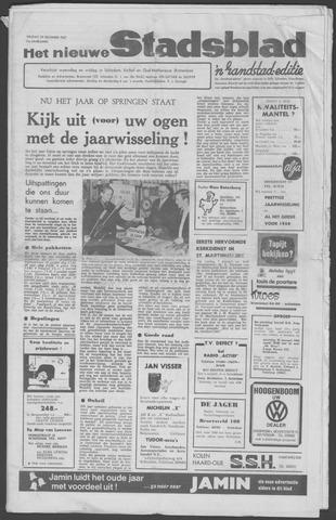 Het Nieuwe Stadsblad 1967-12-29