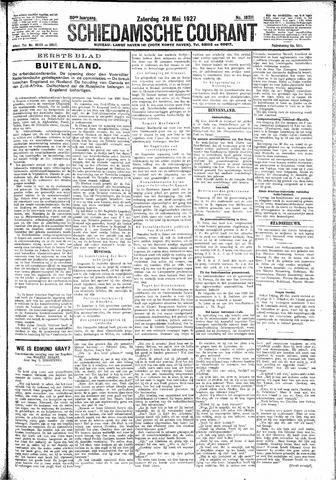 Schiedamsche Courant 1927-05-28