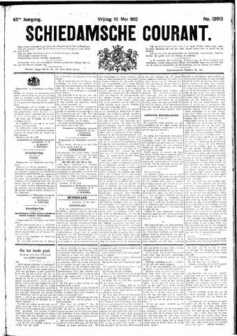 Schiedamsche Courant 1912-05-10