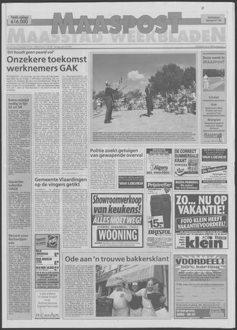 Maaspost / Maasstad / Maasstad Pers 1998-07-29