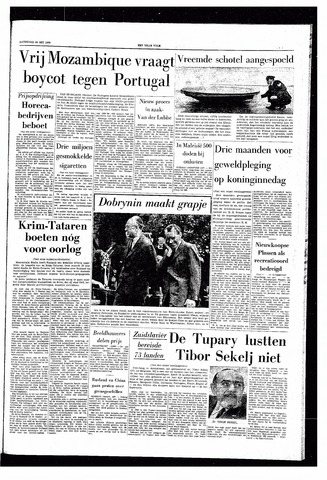 Het Vrije volk 1969-05-24