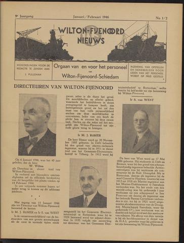 Wilton Fijenoord Nieuws 1946