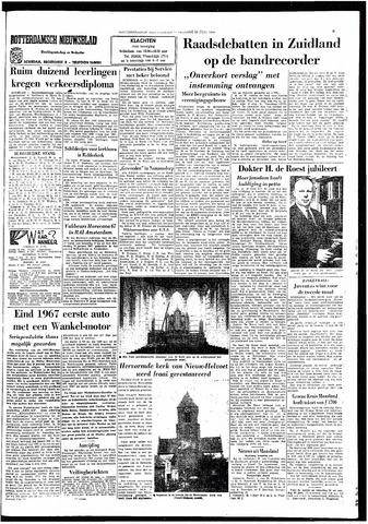 Rotterdamsch Nieuwsblad / Schiedamsche Courant / Rotterdams Dagblad / Waterweg / Algemeen Dagblad 1966-06-24
