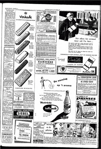 Rotterdamsch Nieuwsblad / Schiedamsche Courant / Rotterdams Dagblad / Waterweg / Algemeen Dagblad 1953-02-18