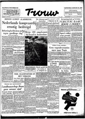 Trouw / De Rotterdammer 1957-11-18