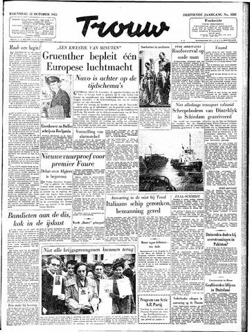 Trouw / De Rotterdammer 1955-10-12