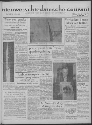 Nieuwe Schiedamsche Courant 1958-03-29