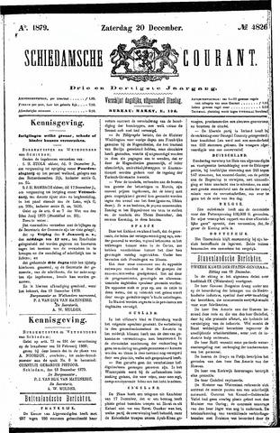 Schiedamsche Courant 1879-12-20