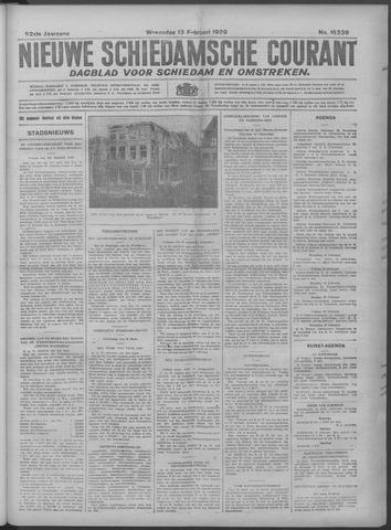 Nieuwe Schiedamsche Courant 1929-02-13