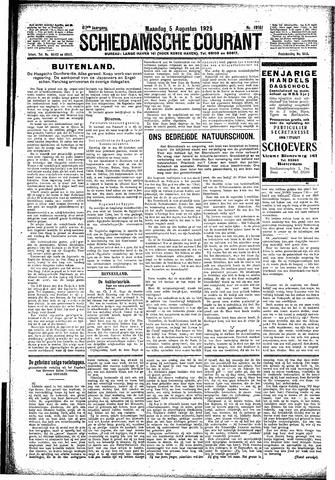 Schiedamsche Courant 1929-08-05