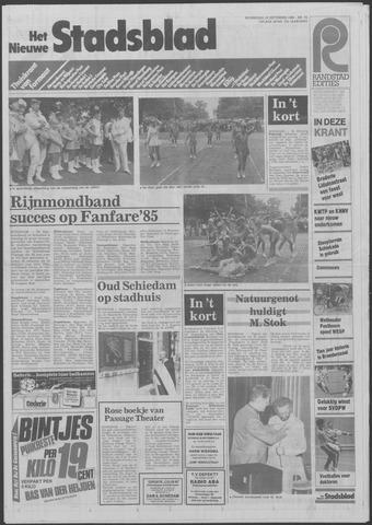Het Nieuwe Stadsblad 1985-09-18