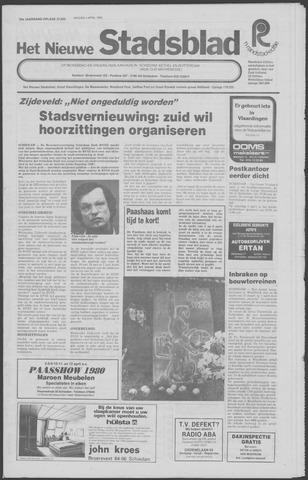 Het Nieuwe Stadsblad 1980-04-04