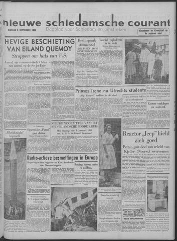 Nieuwe Schiedamsche Courant 1958-09-09