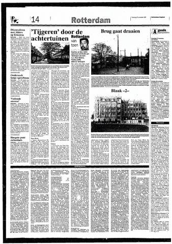 Rotterdamsch Nieuwsblad / Schiedamsche Courant / Rotterdams Dagblad / Waterweg / Algemeen Dagblad 1993-11-27
