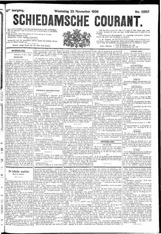 Schiedamsche Courant 1908-11-25