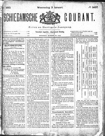 Schiedamsche Courant 1883-01-03