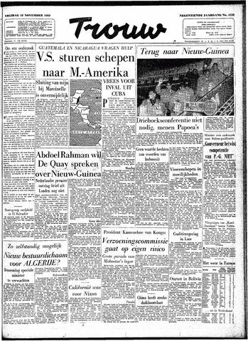 Trouw / De Rotterdammer 1960-11-18