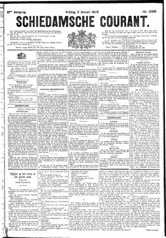 Schiedamsche Courant 1908-01-03