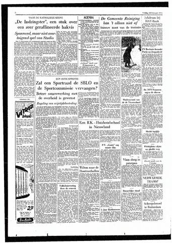 Rotterdamsch Parool / De Schiedammer 1955-02-18