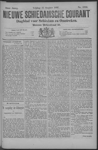 Nieuwe Schiedamsche Courant 1897-10-15