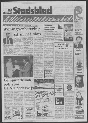 Het Nieuwe Stadsblad 1985-04-03