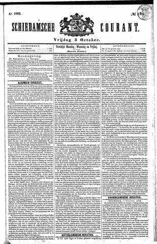 Schiedamsche Courant 1866-10-05