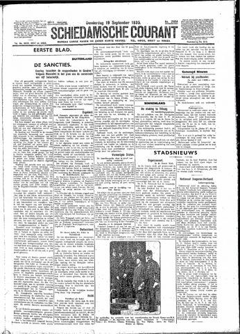 Schiedamsche Courant 1935-09-19