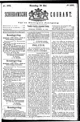 Schiedamsche Courant 1881-05-30