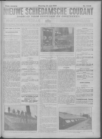 Nieuwe Schiedamsche Courant 1929-06-24