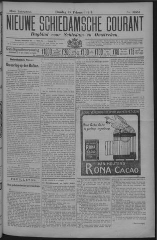 Nieuwe Schiedamsche Courant 1913-02-18