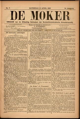 De Moker 1905-04-15