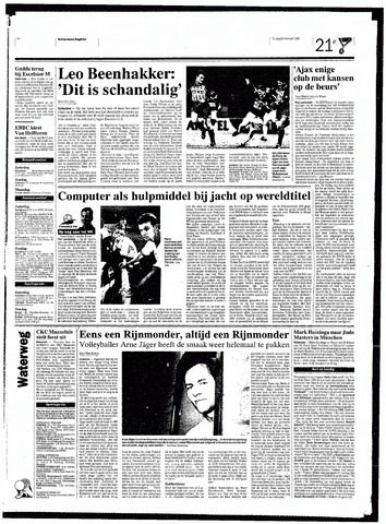 Rotterdamsch Nieuwsblad / Schiedamsche Courant / Rotterdams Dagblad / Waterweg / Algemeen Dagblad 1998-02-20